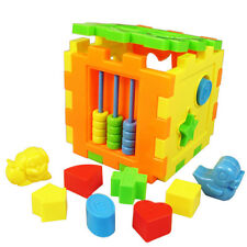 Baby Educational Toy Bricks Matching Blocks Intelligence Sorting Box HV