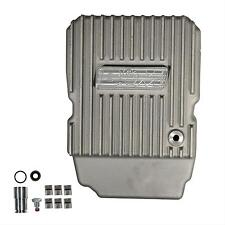 B&M 10300 Finned Cast Aluminum NAG-1 Deep Transmission Pan Charger Jeep +3 Quart