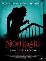 Giclée Print Movie Poster 1922 Nosferatu (French Language)