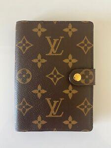 Louis Vuitton Agenda Diary Small Ring Cover Monogram Genuine Hard To Get Item