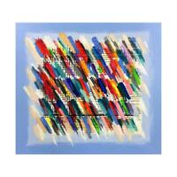 """Calman Shemi """"Jazz Notes"""" Signed Limited Edition Serigraph with LOA"""