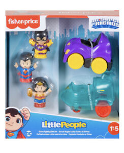 Fisher-Price Little People DC Super Friends Crime Fighting Set.