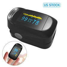 Medidor De Ritmo Cardíaco SpO2 punta del dedo oxímetro de pulso monitor de saturación de oxígeno en la sangre