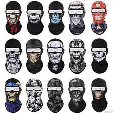 Tactical Skull Ghost Printed Full Face Mask Balaclava Halloween Ski Motorcycle