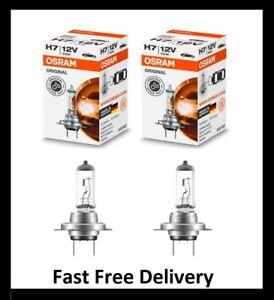 Twin Pack OSRAM H7 64210 12v 55W Car Headlight Globe Bulb German Quality
