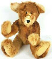 """Authentic One of a Kind Real Marten Jointed 18"""" Teddy Bear Doll Collectible"""