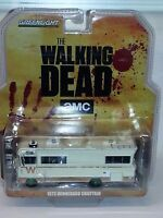 GREENLIGHT WALKING DEAD 1973 WINNEBAGO CHIEFTAIN 1/64 DIECAST RARE GREEN WHEELS