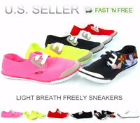 Women's Casual Sneakers Stretchable Lace Up Slim Look Shoes Fashion Lightweight