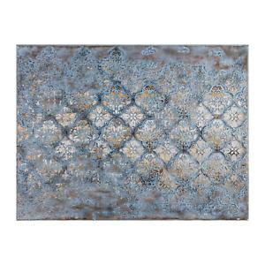 Painting Quatrefoil Print Artwork Wall Decor Canvas Stretched Wood Frame 90x1...