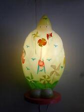 lampe à poser jovial bùdhi, moulin à vent, l'oiseaux bateau (taille: 40X20cm)