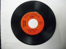 Stonewall Jackson Never More Quote The Raven/How Many Lies Can I Tell 45 RPM VG+