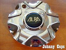 Alba Wheels Chrome Center Caps Custom Wheel Chrome Plastic Center Cap (1)