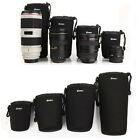 Waterproof Camera Canon Sony Nikon Lens Protector Pouch Case Insert Bag Cover
