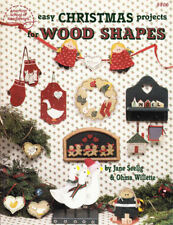 Craft Books: #1051 Easy Christmas Projects Wood Shapes