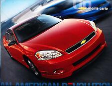2006 Chevrolet Monte Carlo 18-page Original Car Sales Brochure Catalog - SS LTZ