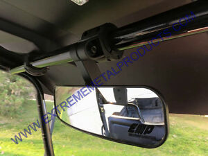 "Honda Pioneer 13"" Panoramic Rear View Mirror P/N:13281 Fits Polaris RZR too"