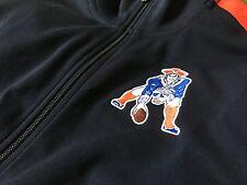 Nike New England Patriots Retro Jacket (Men's Medium Throwback OnField Apparel)