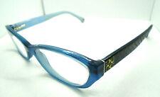 COACH Womens Eyeglasses CECILIA HC 6002 5056 Blue 49-16-135 Designer Rx Frames