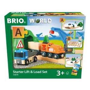 Brio 33878 Güterzug & Kran Set 3+Jahre