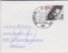 Germany BRD Bundespost 1985 MI 1247 auf brief / cover Erstausgabe-Stempel Bonn