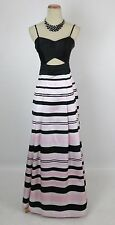 NEW Windsor Striped Prom Formal Cruise Dress SIZE 11 Evening Gown $130 Ball NEW