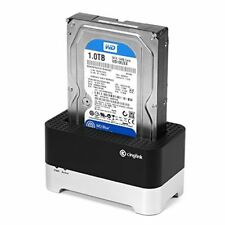 Cinolink USB 3.0 to SATA External Hard Drive Docking Station for 2.5 or 3.5 i...