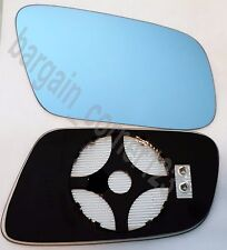 Right DRIVER Side Wing Mirror Glass HEATED BLUE CONVEX AUDI A3 A4 A6 A8 99-03
