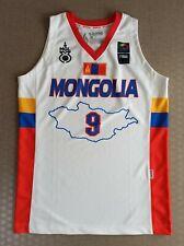 Mongolian National Basketball Jersey 9 MGl FIBA TsenguunBayar XL Player issue