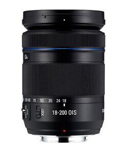 Samsung NX 18-200mm f/3.5-6.3 OIS Aspherical Prime Lens (White Box) Bulk Package
