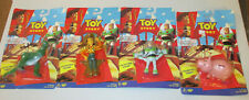 Vintage Disney's Toy Story Collectible Figure Lot Buzz Woody Rex Hamm NIP