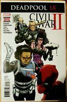DEADPOOL #18 (2016 MARVEL Comics) NM - Comic Book