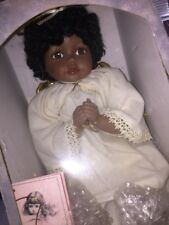 African American Angel Girl Tyler Traditions Doll Collection In Box