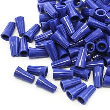 2500 pcs Blue Screw On Wire Electrical Connectors Twist-On Easy Screw Pack