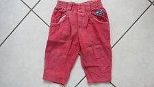 Cord Hose für Kinder Gr. 74 mit Stretchbund rosa pink Colored Dreams Baumwolle