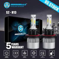 H13 LED Headlight Bulbs for Dodge Ram 1500 2500 3500 2006-2012 High Low Beam Kit
