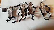 Bethany Lowe Skeleton Garland Retired NWT Hobgoblins by Bruce Elass