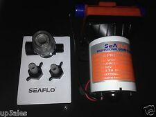 SEAFLO 12v 42 Series Automatic Fresh Water Pump 11l - Caravan Camping RV Boat