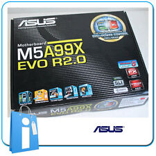 Placa base ATX ASUS M5A99X EVO R2.0 ddr3 Socket AM3 con Accesorios
