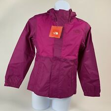 GIRLS: The North Face Madison Rain Jacket, Fuchsia Pink - Size Large (14/16)