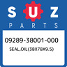 09289-38001-000 Suzuki Seal,oil(38x78x9.5) 0928938001000, New Genuine OEM Part