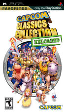 Capcom Classics Reloaded PSP New Sony PSP
