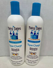 Fairy Tales Super-Charge Detangling Shampoo Cleanse and Smooth 12 oz (Pack of 2)