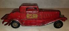 "Vintage Girard ""Fire Chief Siren Coupe"" Dark Red Model WKS, INC. New York"