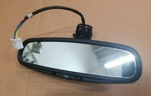 2000-2003 JAGUAR XJ8 XK8 XJR OEM Rear View Mirror 8 Wire Auto Dim Rain 00 01 02