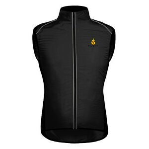Cycling Vest High Visibility Windproof Bicycle Gilet Road Bike Sleeveless Jersey