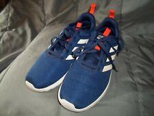 Adidas Boys Size 6 Blue and White Stripe