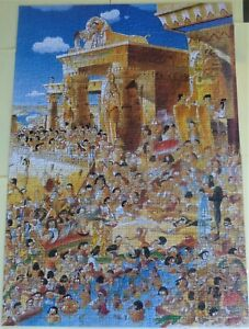 """Heye Jigsaw Called """"EGYPT"""" 1000 Pieces + Poster Boxed Complete 2004 by H Parades"""