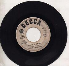 ROLLING STONES disco 45 STAMPA ITALIANA  Heart of stone PROMO JUKE BOX ITALY