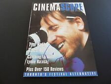Tim Roth Signed Autographed Cinema Scope Magazine PSA Beckett Guaranteed