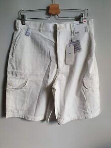Uniqlo x J.W. Anderson Cargo Shorts Off White - Medium